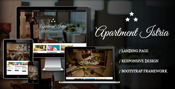 Apartment Istria - Responsive Landing Page - Food Retail